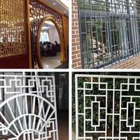 铝窗花 绿色环保 抗腐能力强 质轻 坚硬 图案花样随变订制