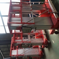 10m双桅铝合金升降机10m单桅铝合金升降机