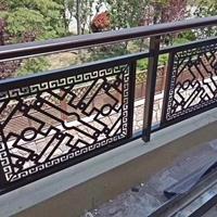 长沙防护铝栏杆围栏 街道铝合金防护栏铝制建材厂家