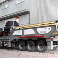 时产300吨的移动式破碎机多少钱YJN92