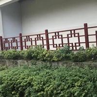 公园景观铝护栏-花格铝栏杆-木纹铝护手