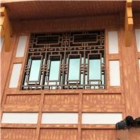 纪念馆门头中式铝花格-江西厂家定制