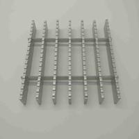 铝格栅使用寿命长,价格低,本地老牌厂家质量保障,铝格板的尺寸格规格效果图