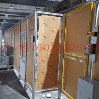 40鋁型材機器人工作站 汽車裝備車間隔斷