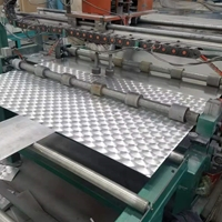 生产五条金花纹铝板