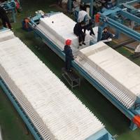 厂家直销小型压滤机手动压紧板框压滤机厢式压滤机污水处理压滤机
