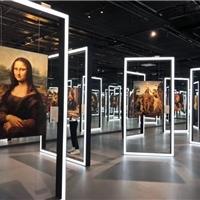 80x 80mm LED发光铝合金型材,用于模块化展台展览展台的方形型材