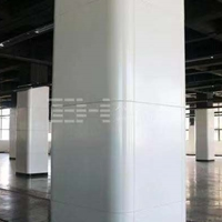 比亚迪厂房木纹造型铝板-材料铝板定做厂家