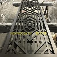 南平中式仿古木纹烧焊铝窗花厂家直销定做