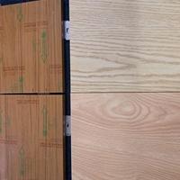 建筑幕墙木纹铝蜂窝板-勾搭式铝蜂窝板天花吊顶
