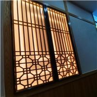 园林改造复古铝窗花生产