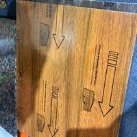 厂家定做仿木纹铝蜂窝板-轻质隔断墙铝蜂窝芯复合板