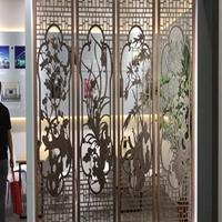 建筑室内造型浮雕铝屏风-隔断装饰背景墙生产厂家