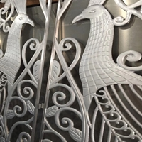 加工供应艺术隔断铝屏风-造型幕墙背景墙定制