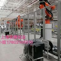 工業機器人網格圍欄安全防護欄