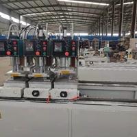 全套制作塑钢门窗的机器报价有哪几台机器