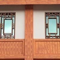 云南沿街复古装饰中式铝窗花厂家