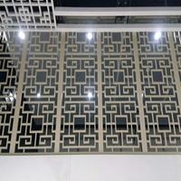 定制花格防盜網-中式鋁花格-花格隔斷鋁窗花