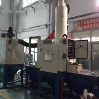 中国动车高铁内饰件材料喷砂喷砂机