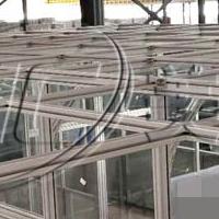 车间铝型材框架隔断定制