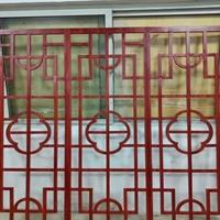 佛山广焊建材生产铝窗花-铝花格古典风