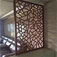 厂家直销铝窗花 农村改造装饰铝花格 新型环保匠心设计建材铝合金制品