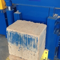全自动木屑颗粒压块机 非金属打包设备