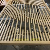 焊接铝合金花格仿古工艺 中式防盗网铝花格