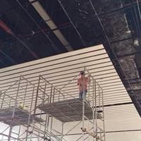 加油站改建烤漆铝条扣合作厂家