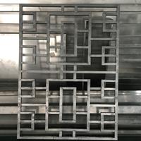 沿街楼改造铝格栅窗按图生产