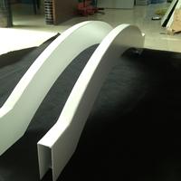 弯弧铝板幕墙-凹凸铝板天花