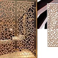 永清铝窗格 烤漆铝合金窗格
