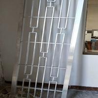 西山凉亭木纹铝挂落 仿古铝窗花批发价