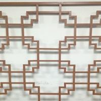 芮城凉亭木纹铝挂落 木纹铝窗格工程价格