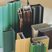 铝合金加工 6063铝合金型材 散热器铝型材 铝型材定制