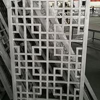咖啡色焊接中式花格窗厂家