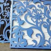 烤漆镂空铝单板-镂空雕花包边铝板