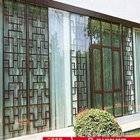 四川泸州装饰铝窗花木纹铝窗花定制