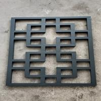 古建楼阁铝花格窗按图生产厂家