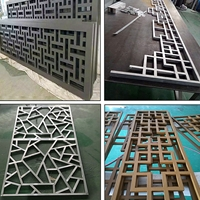 海南椰子中式铝格栅按图生产厂家