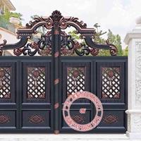 门楼样式    全铝门价格  别墅大门造型