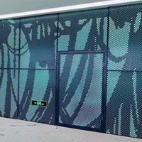 外立面用各种造型铝单板  佛山厂家经验定制