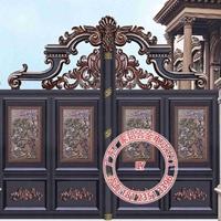 别墅大门样式 别墅大门装饰别墅进户大门别墅客厅大门