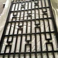 酒店中式烤漆铝屏风焊接