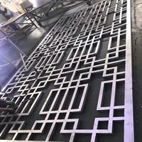 鄉村改造仿木紋鋁花格窗生產實力廠家