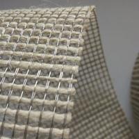 碩隆藝術玻璃夾層金屬網 夾膠玻璃金屬絲