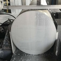 7075T6直径80mm铝棒 耐磨光亮铝板