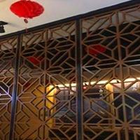 文化宫铝格栅窗装饰材料设计