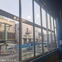 彩色涂层立转窗 彩钢板门窗厂家