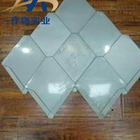 菱形平锁扣铝镁锰屋面板
